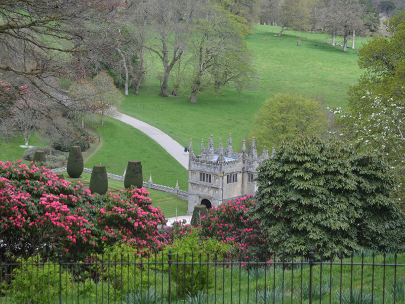 Lanhydrock House and Garden, Bodmin, Cornwall, United Kingdom.