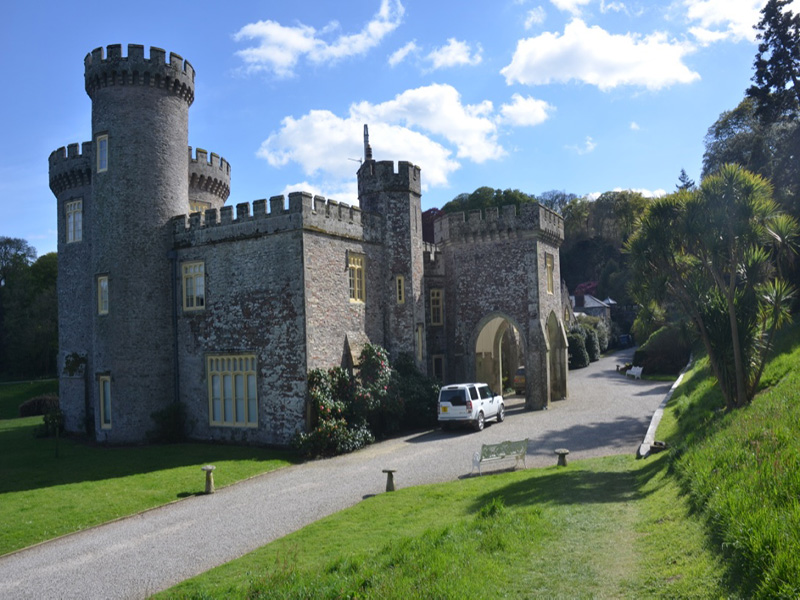 Caerhays Castle, Goran, Cornwall, United Kingdom.